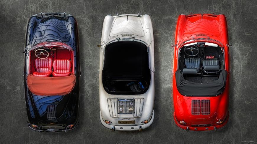 Porsche Triptichon